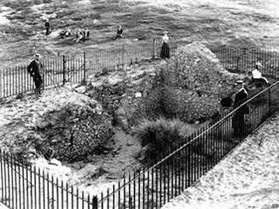 Archaeologists examining one of the most ancient churches in Britain