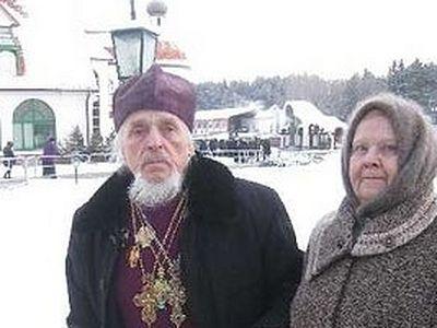 Старейший клирик Белорусского Экзархата помолился у Даров волхвов