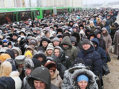 За пять дней в Минске Дарам волхвов поклонилось более 460 тысяч