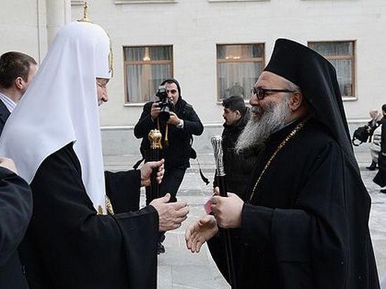 Патриарх Кирилл: Cтрадания народа Сирии болью отзываются в наших сердцах