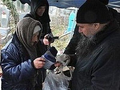 В Краснодаре прошла акция «Помоги бездомному!»
