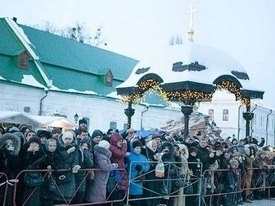 Дарам волхвов в Киеве поклонились более 100 тысяч человек