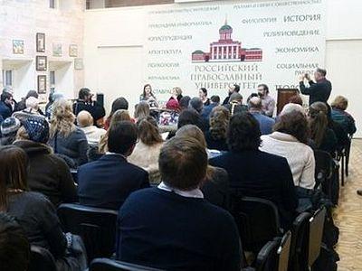Участники круглого стола Рождественских чтений обсудили, как должен звучать голос Церкви в современных СМИ