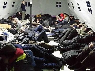 Московский пункт обогрева бездомных работает на пределе возможностей