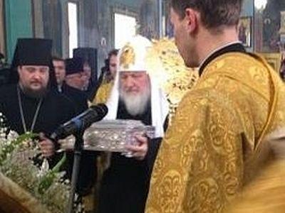 Предстоятель Русской Церкви с Дарами волхвов прибыл в Волгоград