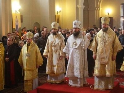 Enthronement of Archbishop Joachim of Prague