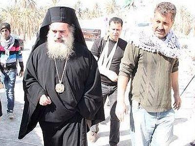 Архиепископ Севастийский Феодосий палестинскую деревню, основанную на землях монастыря прп. Герасима