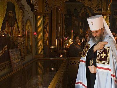 Митрополит Черновицкий и Буковинский Онуфрий: «Церковь должна идти за Христом, а не за политиками»