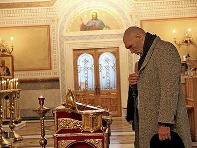 Крым: Делегация депутатов Госдумы России посетила собор в Херсонесе