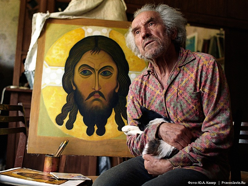 Иконописец Владимир Белов