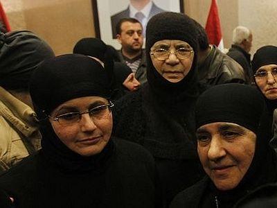 Освобожденные монахини возвращаются в Сирию