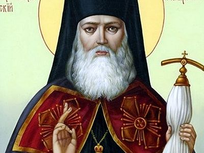 Joint prayers in the Diocese of Simferopol to St. Luke of Crimea for increase of love in the Ukraine