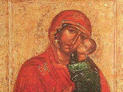 В Новоспасский монастырь в Москве будет принесена Толгская икона Божией Матери