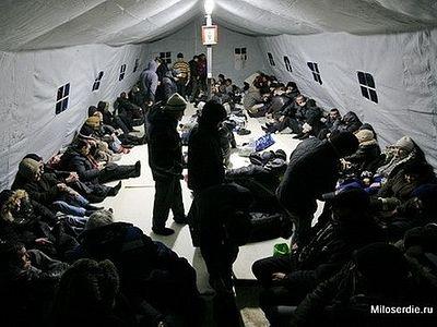 Более 4500 человек спас этой зимой пункт обогрева бездомных