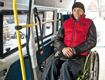 Как инвалид создал службу перевозки инвалидов