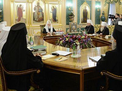 Заявление Священного Синода Русской Православной Церкви о ситуации на Украине