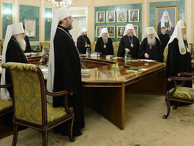 Суждение Священного Синода о ситуации в Крыму