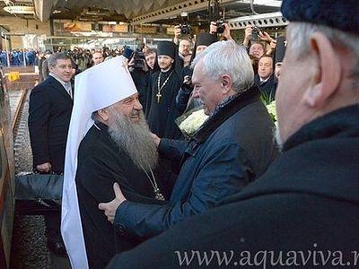 Митрополит Варсонофий прибыл в Петербург: «Мы начнем новые страницы нашей жизни»