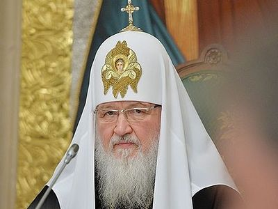 Patriarch Kirill: