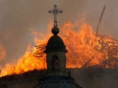 Мощи св. Александра Невского уцелели в сгоревшем храме