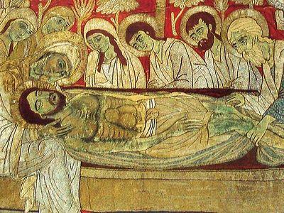 Образ Христа на Туринской Плащанице и палестинская гимнография