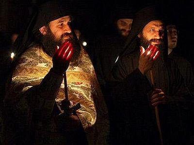 Пасха в Иверском монастыре на Афоне