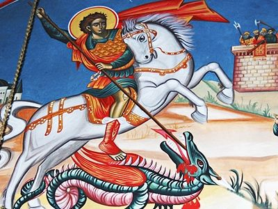 Why St George is a Palestinian hero