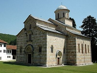 Famous Serbian monastery receiving threats