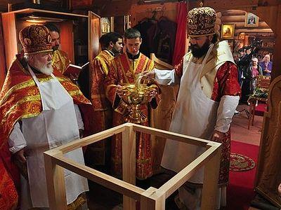 В Черкесске освятили храм в честь прп. Сергия Радонежского