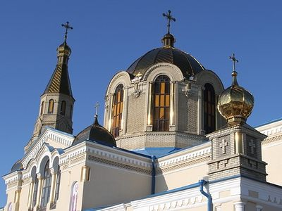 Prayers for peace and stopping of hostility in Lugansk