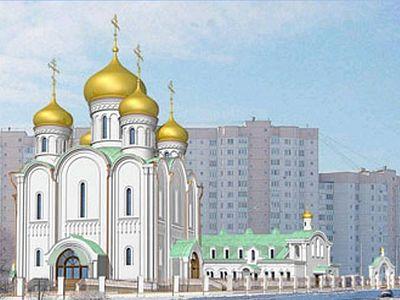 На строительства 200 храмов в Москве пожертвовали более 1 млрд. рублей