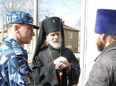 Aрхиепископ Вологодский Максимилиан освятил храм в колонии