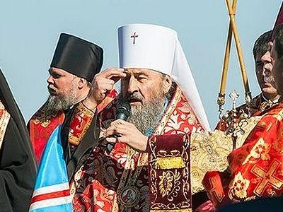 Митрополит Онуфрий выразил соболезнования в связи с убийством клирика Горловской епархии