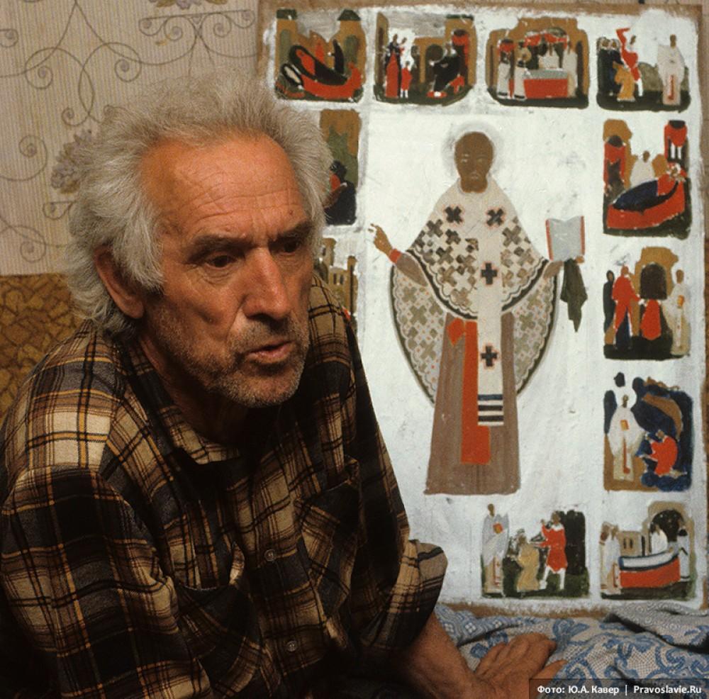 Владимир Белов, иконописец