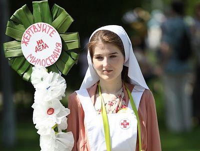 Цель «Белого цветка» – пробудить в людях желание помогать другим