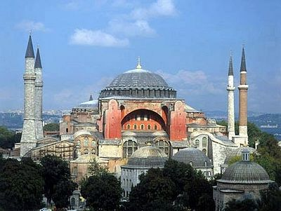 Меркель против открытия мечети в соборе Св. Софии в Константинополе
