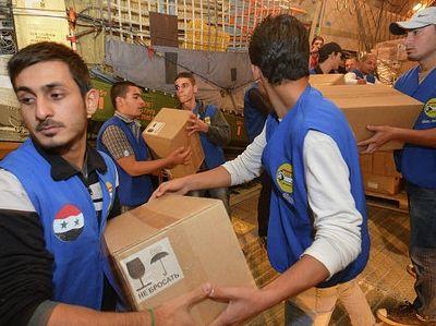 2 тонны помощи пострадавшим в Сербии передали представители Русской Православной Церкви