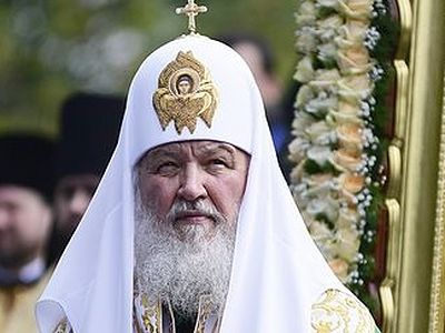 His Holiness Patriarch Kirill of Moscow and All Russia sends a message to Pyotr Poroshenko, president Elect of Ukraine