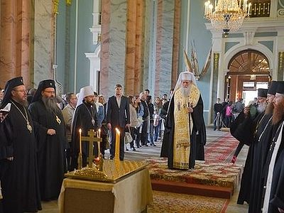 Патриарх Болгарский Неофит совершил литию по императору Александру II
