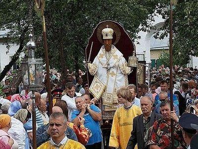 В Иосифо-Волоцком монастыре возобновлен крестный ход XVIII в.