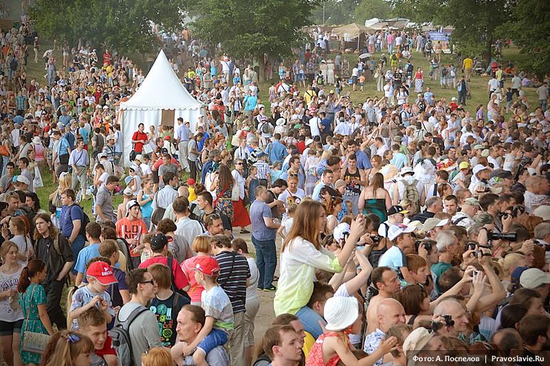 Зрители фестиваля