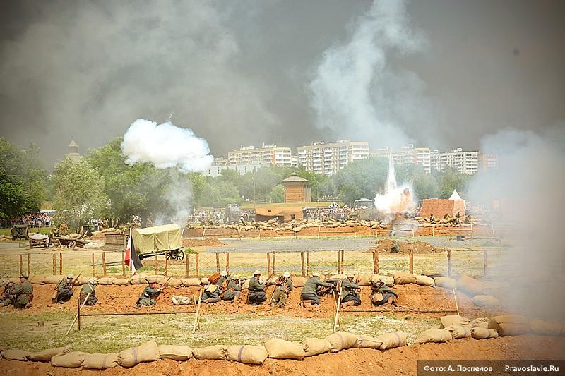 Осада крепости Осовец