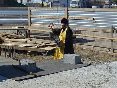 В Якутске осквернили строящийся православный храм
