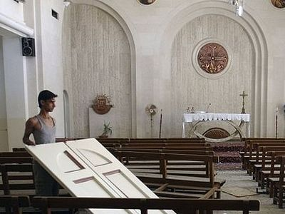 Militants intend to destroy all churches in the seized city of Mosul in northern Iraq