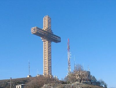 Christian group defends Skopje's second giant cross