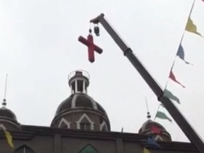 Church and cross demolitions continue in China: Christians plead for government to stop