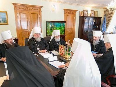 В Киеве состоялось заседание Священного Синода Украинской Православной Церкви