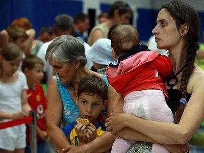 Fundraising to support the Ukrainian refugees takes place in all churches of Russia