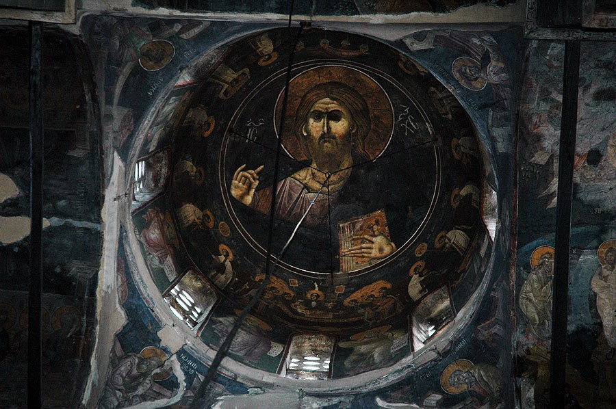 The Pantocrator. Central dome