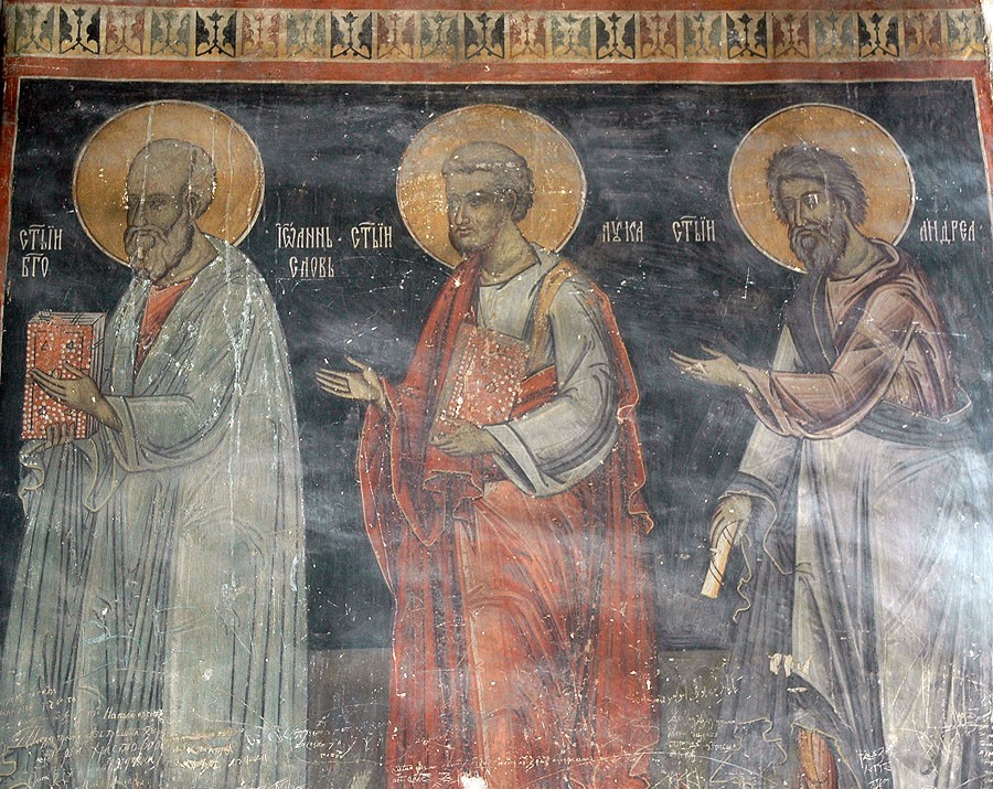 Holy Apostles John the Theologian, Luke, and Andrew